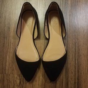 Charlotte Russe black flats size 7